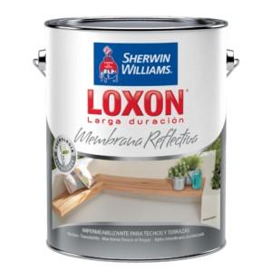 LOXON LD MEMBRANA REFLECTIVA BLANCO x 5